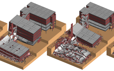 Santa Monica Hospital Implosion